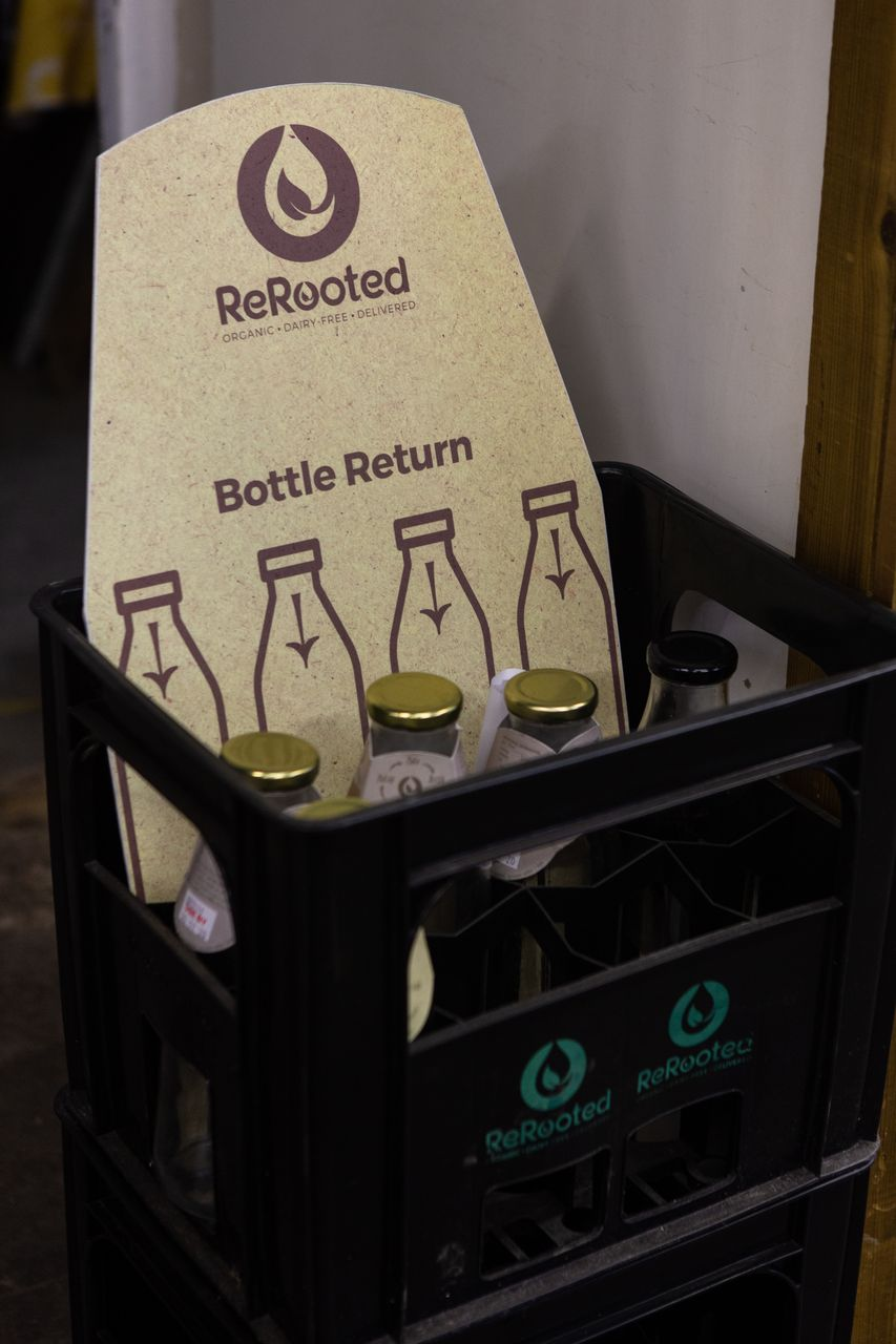 Return Milk Bottles
