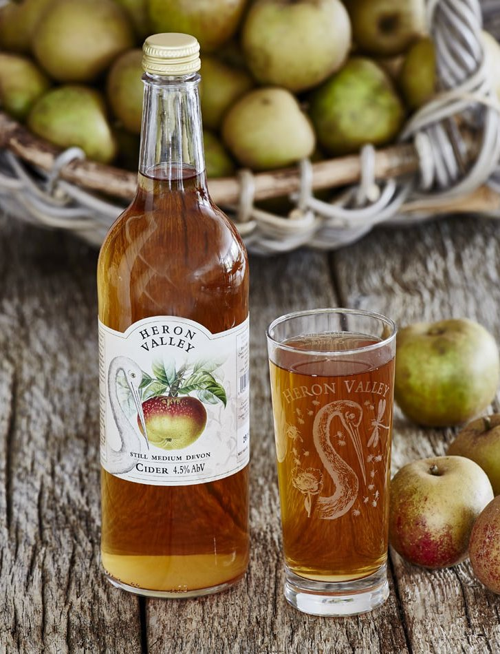 Heron Valley Cider at Greenlife in Totnes